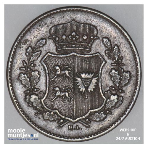 sechsling - provisional government - German States/Schleswig-Holstein 1851 (KM 1