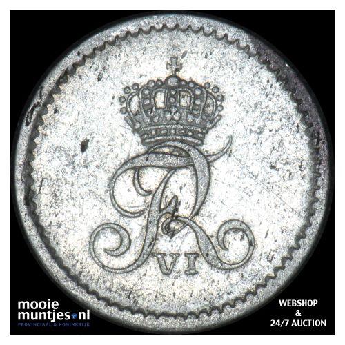8 reichsbank schilling - duchy - German States/Schleswig-Holstein 1808 (KM 152)