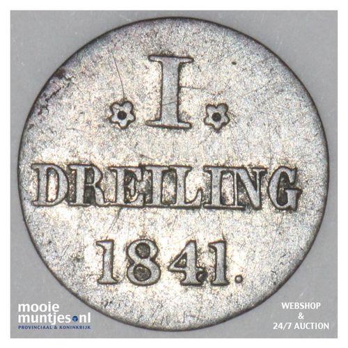dreiling (3 pfennig) - German States/Hamburg 1841 (KM 554) (kant A)
