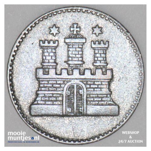 sechsling (6 pfennig) - German States/Hamburg 1855 (KM 585) (kant B)