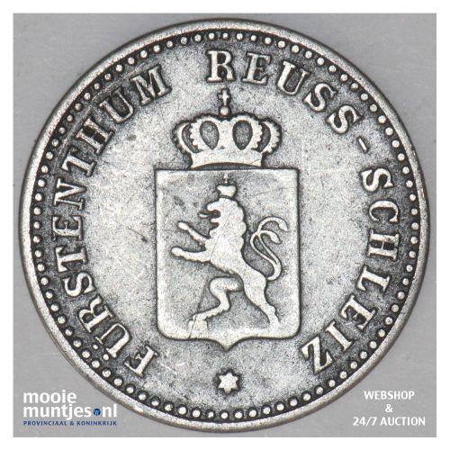 silber groschen - prinicpality - German States/Reuss-Schleiz 1841 (KM 59) (kant