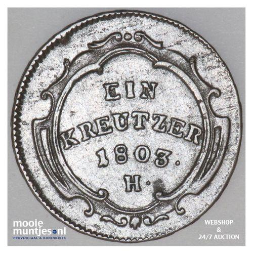 kreutzer - German States/Further Austria 1803 (KM 27) (kant A)