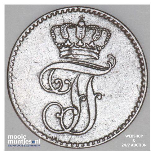 3 pfennig (dreiling) - grand duchy - German States/Mecklenburg-Schwerin 1848 (KM
