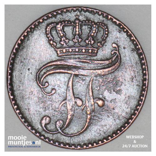 3 pfennig (dreiling) - grand duchy - German States/Mecklenburg-Schwerin 1864 (KM