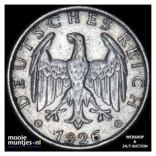 2 reichsmark - Weimar Republic 1826 A (KM 45) (kant A)
