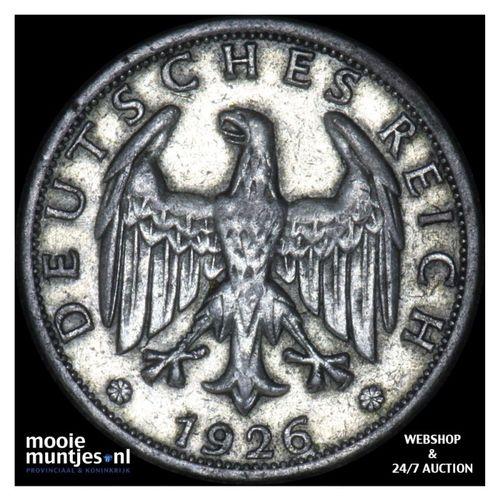 2 reichsmark - Weimar Republic 1826 F (KM 45) (kant A)