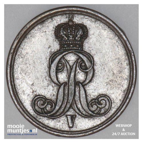 pfennig - German States/Hannover 1853 (KM 221) (kant B)