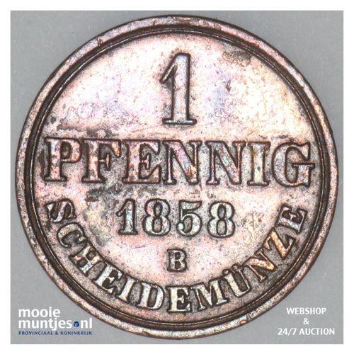 pfennig - German States/Hannover 1858 (KM 233) (kant A)