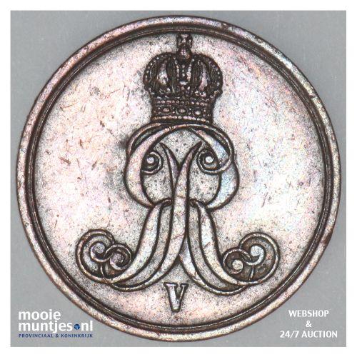 pfennig - German States/Hannover 1858 (KM 233) (kant B)