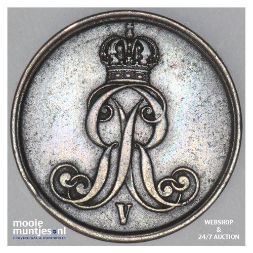 2 pfennig - German States/Hannover 1856 (KM 217) (kant B)