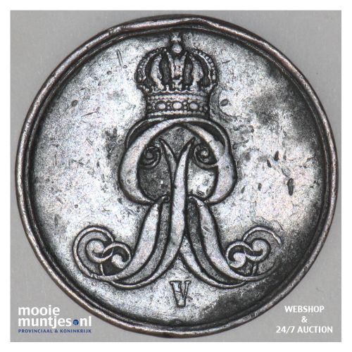 2 pfennig - German States/Hannover 1863 (KM 234) (kant B)