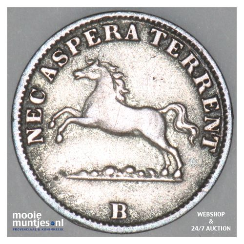 6 pfennig - German States/Hannover 1851 (KM 205) (kant B)