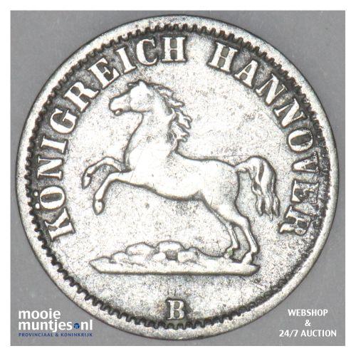 1/2 groschen - German States/Hannover 1858 (KM 235) (kant B)