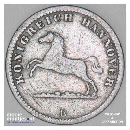 groschen - German States/Hannover 1858 (KM 236) (kant B)