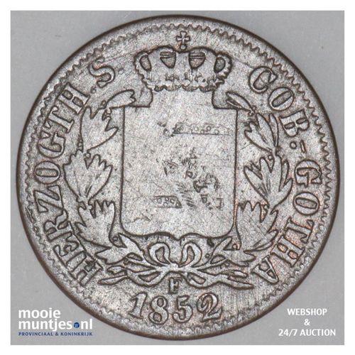 2 pfennig - German States/Saxe-Coburg-Gotha 1852 (KM 104) (kant A)