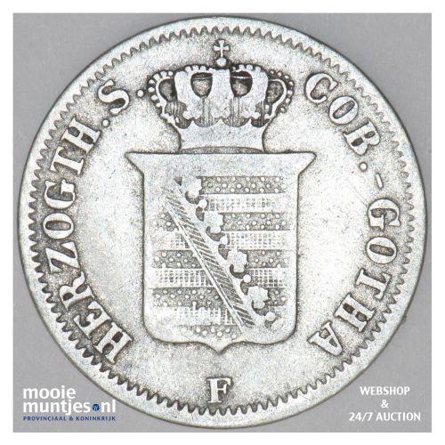 2 groschen - German States/Saxe-Coburg-Gotha 1855 (KM 110) (kant B)