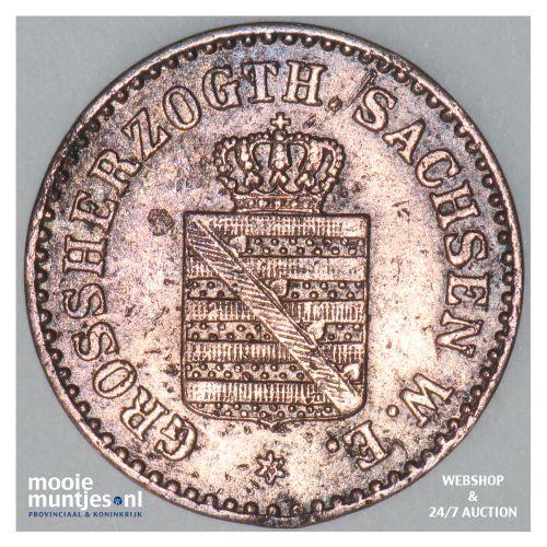 pfennig - grand duchy - German States/Saxe-Weimar-Eisenach 1858 (KM 205) (kant B