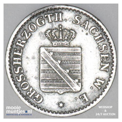 groschen - grand duchy - German States/Saxe-Weimar-Eisenach 1840 (KM 199) (kant
