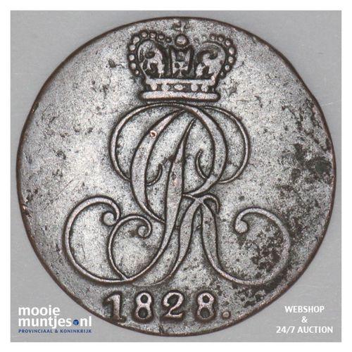 pfennig - German States/Hannover 1828 (KM 125.1) (kant A)