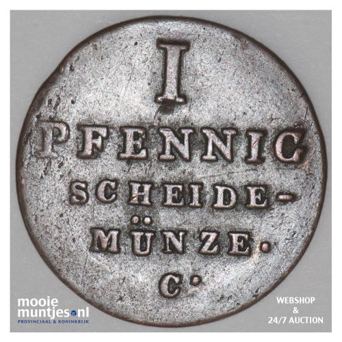 pfennig - German States/Hannover 1828 (KM 125.1) (kant B)