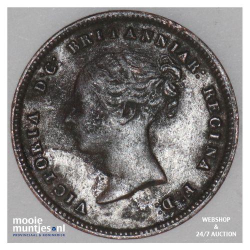 1/2 farthing - Great Britain 1844 (KM 738) (kant B)