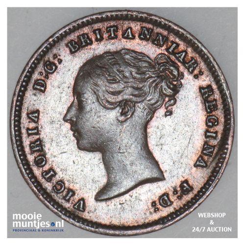 1/2 farthing - Great Britain 1843 (KM 738) (kant B)