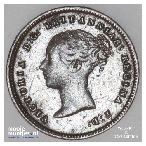 1/2 farthing - Great Britain 1842 (KM 738) (kant B)