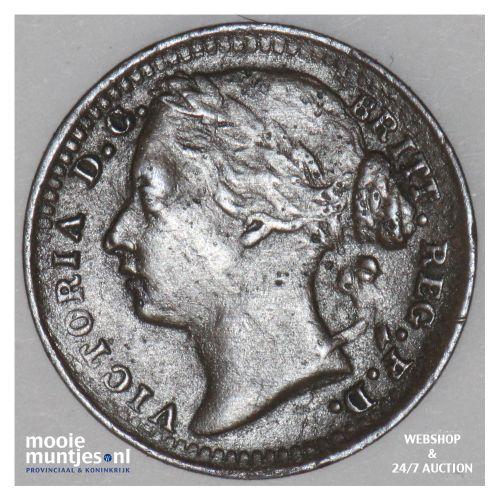 1/3 farthing - Great Britain 1885 (KM 750) (kant B)