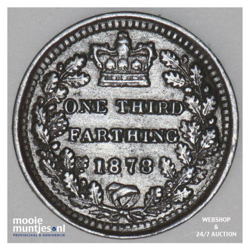 1/3 farthing - Great Britain 1878 (KM 750) (kant A)