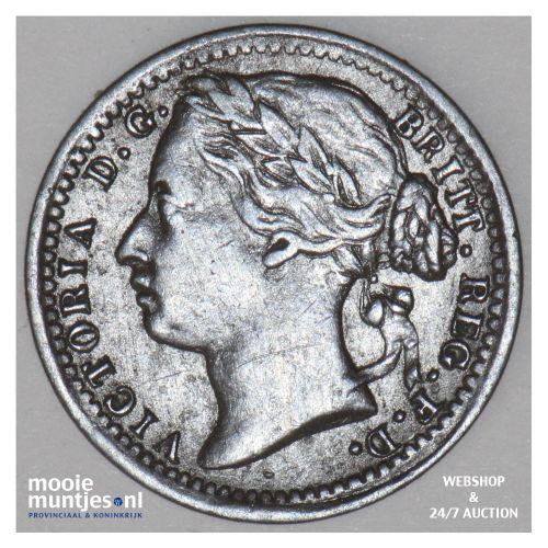 1/3 farthing - Great Britain 1878 (KM 750) (kant B)