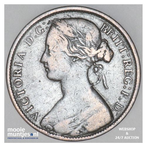 penny - Great Britain 1861 (KM 749.2) (kant B)