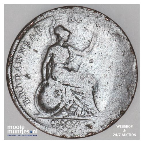 penny - Great Britain 1826 (KM 693) (kant B)