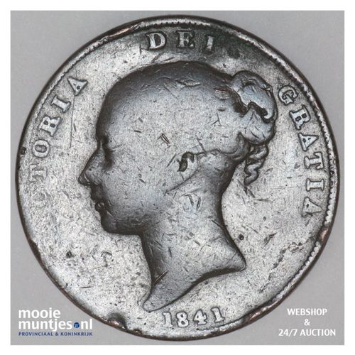 penny - Great Britain 1841 (KM 739) (kant A)