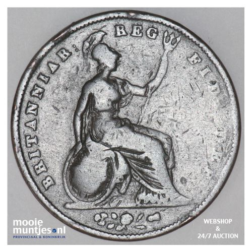 penny - Great Britain 1841 (KM 739) (kant B)