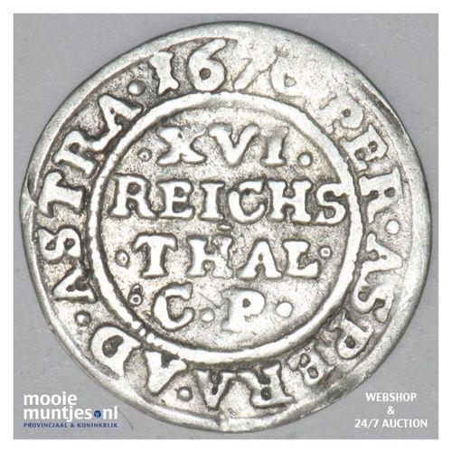 1/16 thaler - German States/Schleswig-Holstein-Gottorp 1670 (KM 113) (kant A)
