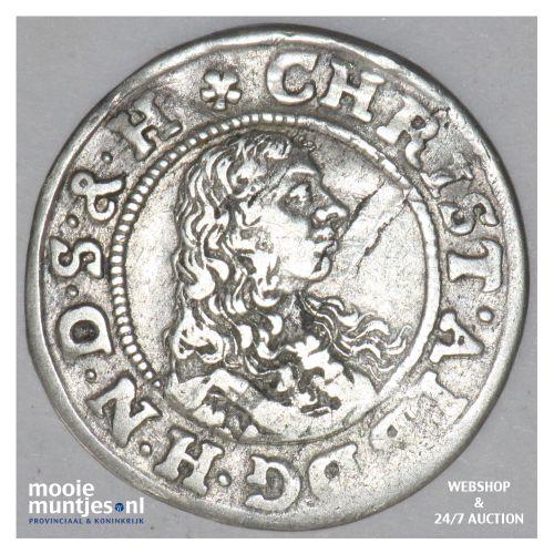 1/16 thaler - German States/Schleswig-Holstein-Gottorp 1670 (KM 113) (kant B)