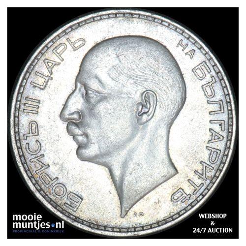 100 leva - kingdom - Bulgaria 1937 (KM 45) (kant B)