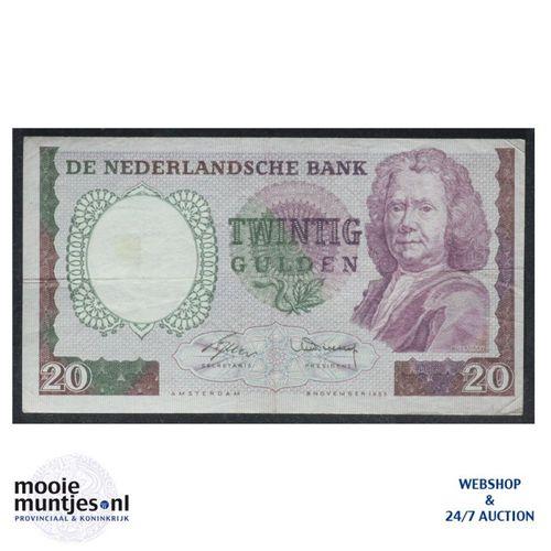 20 gulden - 1955 (Mev. 60-1 / AV 43) (kant A)