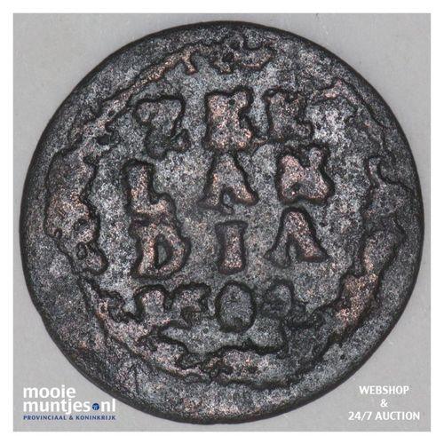 Zeeland - Duit - 1682 (kant A)