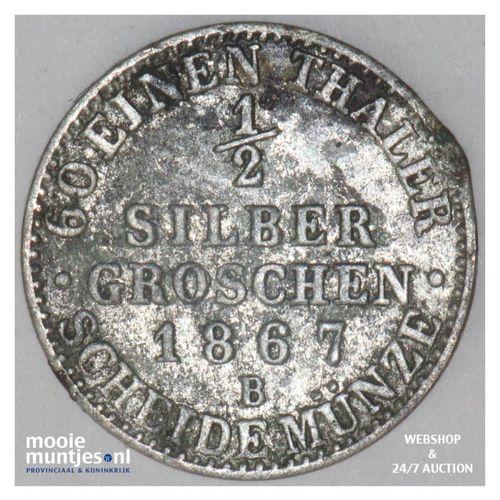 1/2 neu-groschen (5 pfennig) - German States/Prussia 1867 A (KM 484) (kant A)
