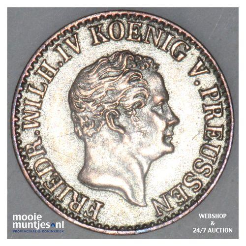 1/2 silber groschen - German States/Prussia 1851 (KM 434) (kant B)
