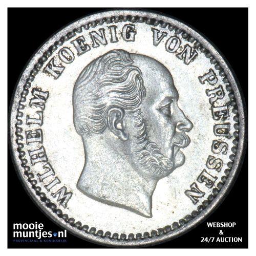 2 1/2 silber groschen - German States/Prussia 1873 A (KM 486) (kant B)