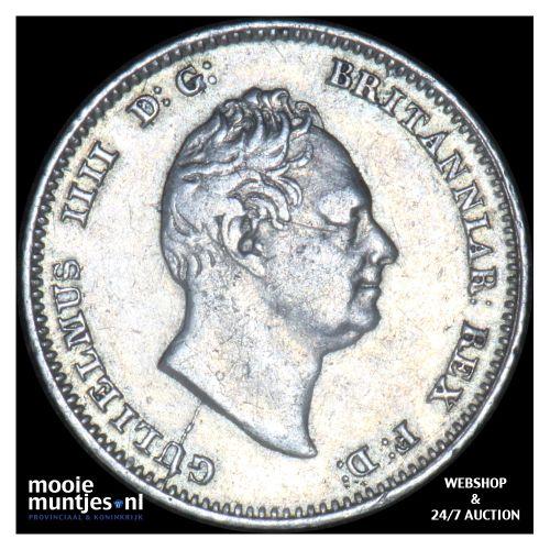 4 pence (groat) - Great Britain 1836 (KM 711) (kant B)