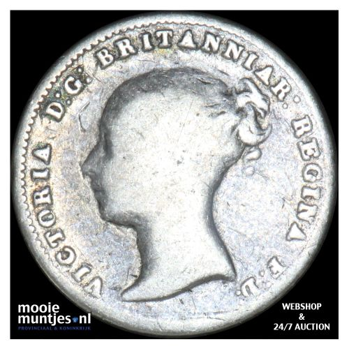 4 pence (groat) - Great Britain 1843 (KM 731.1) (kant B)