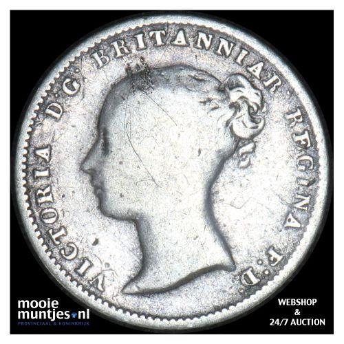 4 pence (groat) - Great Britain 1849 (KM 731.1) (kant B)