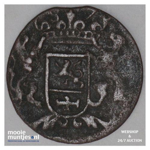 Zutphen - Duit - 1687 (kant A)