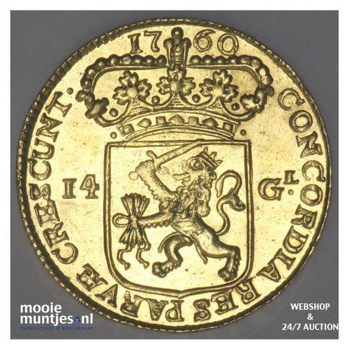 Zeeland - Gouden rijder, nieuw type - 1760 (kant A)