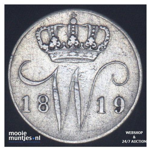 5 cent - Willem I - 1819 Utrecht (kant A)