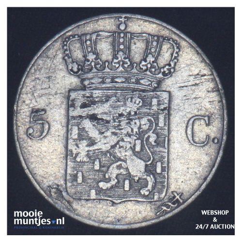 5 cent - Willem I - 1819 Utrecht (kant B)