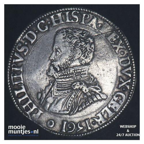 Gelderland - Philipsdaalder - 1561 (kant A)